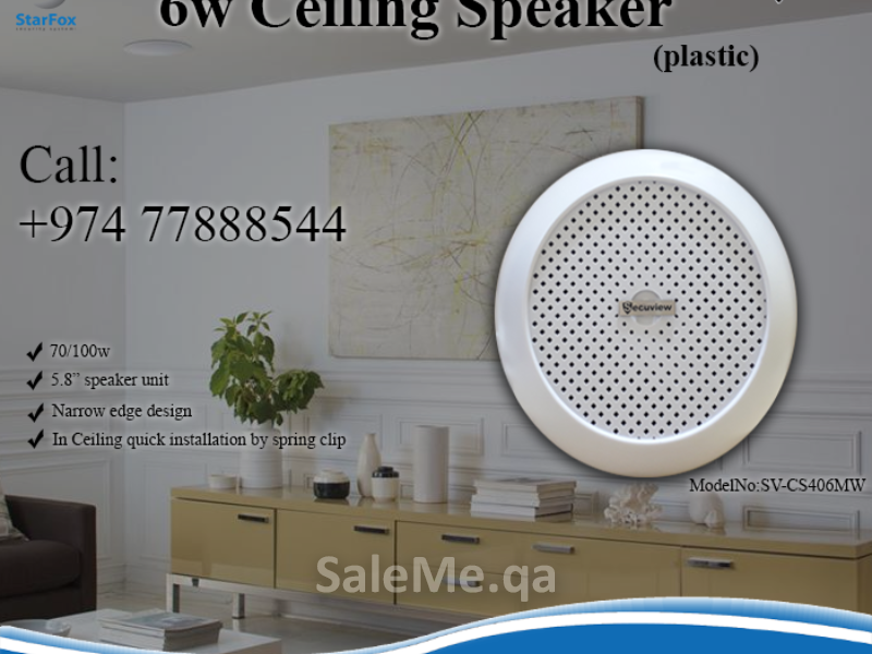 6w Ceiling Speaker Salwa Road Doha Largest Online Marketplace For Buying And Selling In Qatar